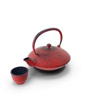 Japanese Cast Iron Teapot PNG & PSD Images