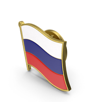 Russian Federation Lapel Pin PNG & PSD Images