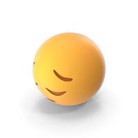 Sad Pensive Face Emoji PNG & PSD Images