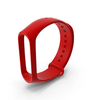 Silicone Strap for Fitness Tracker PNG & PSD Images