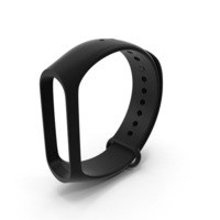 Silicone Strap for Mi Band PNG & PSD Images