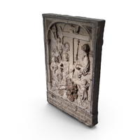 Religious Stone Relief PNG & PSD Images