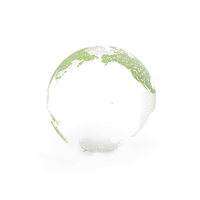 Abstract Earth Model PNG & PSD Images