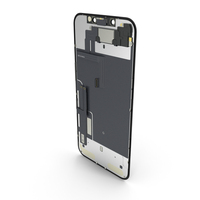Smartphone LCD Display with Touchscreen PNG & PSD Images