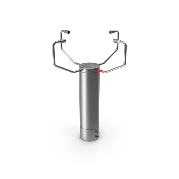 Ultrasonic Wind Speed and Direction Sensor PNG & PSD Images