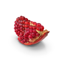 Realistic Piece of Pomegranate PNG & PSD Images