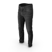 Men's Jeans Dark Grey PNG & PSD Images