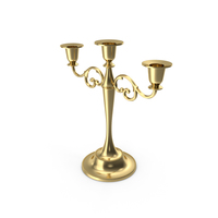 Brass Candlestick PNG & PSD Images