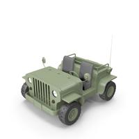Cartoon Jeep Cab Car PNG & PSD Images