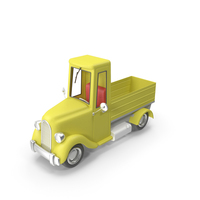 Cartoon Truck Pickup PNG & PSD Images