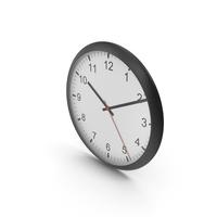 Wall Clock Black PNG & PSD Images