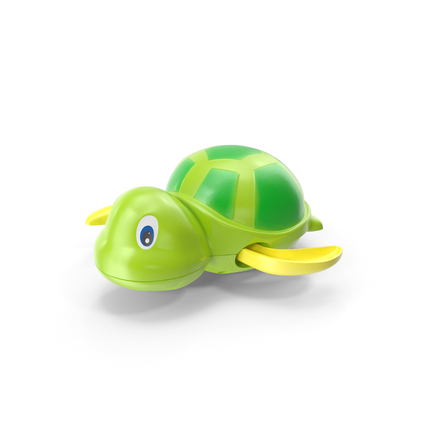 Wind Up Turtle Bath Toy PNG & PSD Images