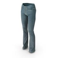 Women's Jeans Blue PNG & PSD Images
