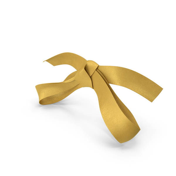 Golden Bow PNG & PSD Images