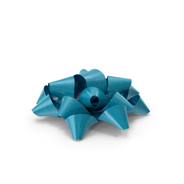 Blue Bow PNG & PSD Images