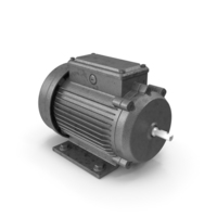 Electric Motor 3 Phase PNG & PSD Images