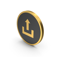 Gold Icon Upload PNG & PSD Images