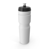 White Sport Bottle PNG & PSD Images