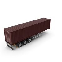 Container Trailer PNG & PSD Images