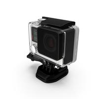 Action Camera in Aqua Box PNG & PSD Images