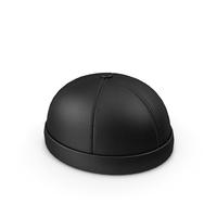 Leather Cap Without Visor PNG & PSD Images