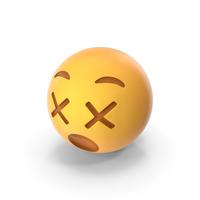 Dizzy Emoji PNG & PSD Images