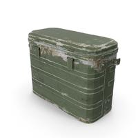 Military Cooler Vintage Version PNG & PSD Images