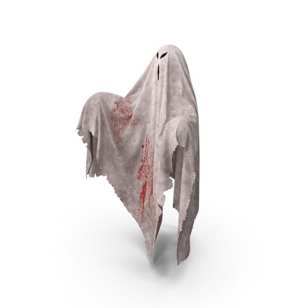 Evil Ghost Bedsheet PNG & PSD Images