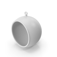 Christmas Tree White Ornament PNG & PSD Images