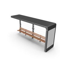 Bus Passenger Stop Station PNG & PSD Images