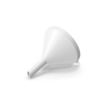 Funnel White PNG & PSD Images