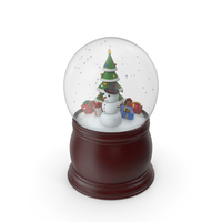 Snow Blobe PNG & PSD Images