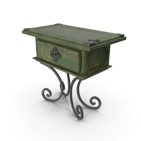 Medium Table Green PNG & PSD Images