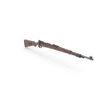 Mauser Karabiner 98K Bolt Action Rifle Old PNG & PSD Images