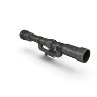 WW2 German Telescopic Sight Old PNG & PSD Images