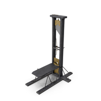 Antique 19th Century Guillotine PNG & PSD Images