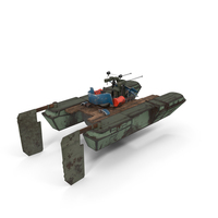 Postapocalyptic War Boat PNG & PSD Images