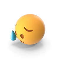 Disappointed but Relieved Emoji PNG & PSD Images