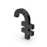 Black  Symbol Armenian Dram PNG & PSD Images
