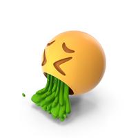Face Vomiting Emoji PNG & PSD Images