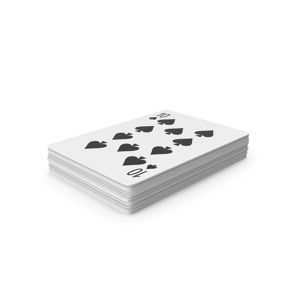 Playing Cards Stack PNG & PSD Images