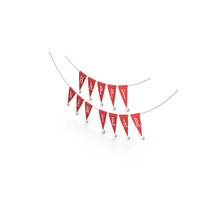 Happy New Year Bunting Garland PNG & PSD Images
