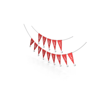 Merry Christmas Bunting Garland PNG & PSD Images