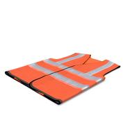 Orange Hi Vis Safety Vest PNG & PSD Images