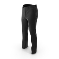 Mens Trousers Black PNG & PSD Images