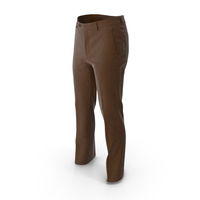 Men's Trousers Brown PNG & PSD Images