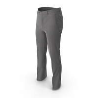 Men's Trousers Grey PNG & PSD Images