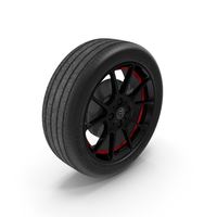 Smart EQ Fortwo Wheel PNG & PSD Images