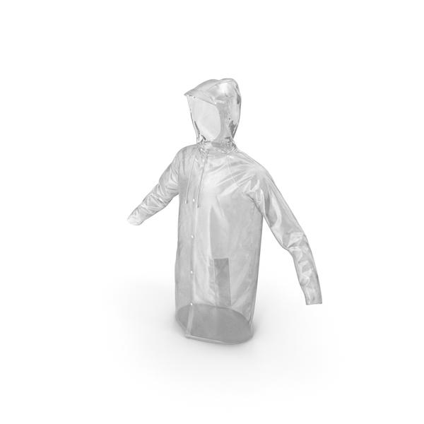 Transparent Raincoat Waterproof PNG & PSD Images