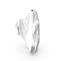 White Ghost Phantom PNG & PSD Images